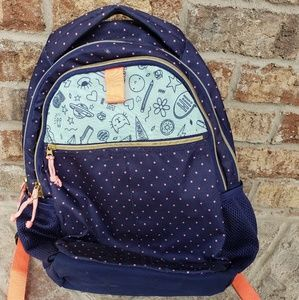 Girls Brave Silly Smart Backpack